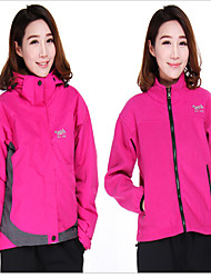 Women's Fashional 3-in-1 Jackets New Style Waterproof Breathable Thermal Windproof Fleece Lining