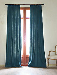 100% Ramie Curtain(Depression Green)