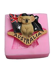 Moule de Cuisson Animal Pour Gâteau For Chocolate Pour Bonbons SilikonPapier à cuire Ecologique Anniversaire Vacances Nouvel An Action de