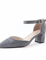 Mulheres sandálias primavera conforto PU casual azul royal vermelho cinzento preto