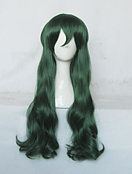 A Boring World Where the Concept of Dirty Jokes Doesn't Exist Hyouka Fuwa Long Green Cosplay Wig