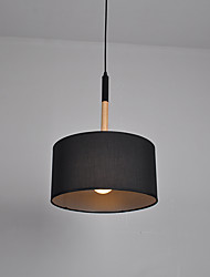 Pendant Light ,  Modern/Contemporary Wood Feature for LED Fabric Living Room Bedroom Dining Room Kitchen Study Room/Office