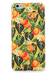 Pour Apple iphone 7 7plus housse couverture motif couverture arrière fleur de fruits puissant pc 6s plus 6 plus 6s 6