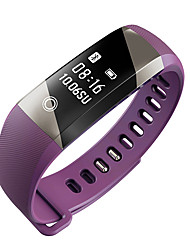 Yya10 homens da mulher bracelete inteligente / smarwatch / monitor de freqüência cardíaca sm wristband monitor de tela de monitor de sono