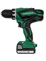 Hitachi 14.4v carregamento broca 13mm dupla velocidade lite broca ds14djl