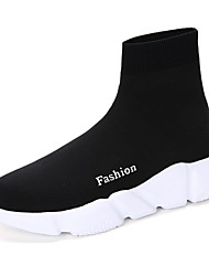 Men's Sneakers Spring Fall Comfort PU Outdoor Casual Black