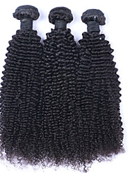 Beata Hair Peruvian Virgin Hair Kinky Wave 3 Bundles/300g Human Hair 8-30Inches 7A Grade 100% Unprocessed Remy Hair Weaves