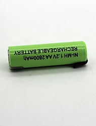 Ni-mh  1.2V AA 2800mAh    Rechargeable Battery