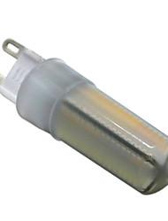 6W G9 Luci LED Bi-pin T 136 SMD 3014 500-600 lm Bianco caldo Bianco Intensità regolabile Decorativo V 1 pezzo