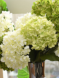 20cm Diameter Large Size High Simulation Silk Hydrangea Home Decoration Artificial Flower(1Branch)