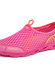 Da donna-Sneakers-Tempo libero Casual Sportivo-Comoda pattini delle coppie-Piatto-PU (Poliuretano)-
