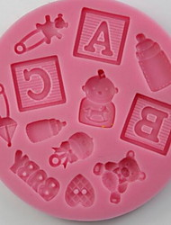 The Minimum Order Quantity Is 2 Stereo Silicone  Mold for Cake Chocolate Silicone