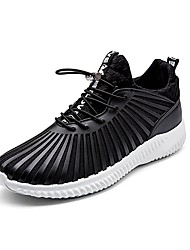 Unisex Athletic Shoes Summer Fall Comfort Light Soles PVC Tulle Outdoor Athletic Casual Flat Heel Split Joint Tassel Running