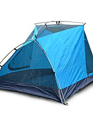 3-4 Pessoas Tenda Duplo Barraca de acampamento Barracas para Acampamento Família Á Prova de Humidade Bem Ventilado Prova-de-Água A Prova