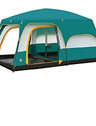 Двойная ПалаткаПоходы Путешествия-зеленый