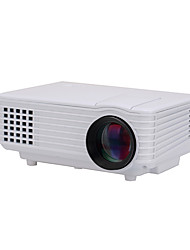 SJ805W LCD 800*480 Projector LED 1000Lumens White HDMI/VGA/USB Projector for TV Home Use