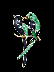 Women's Brooches Basic Alloy Light Green Blue/Green Jewelry For Party Daily