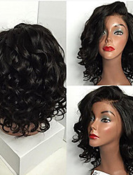 Brazilian Virgin Hair Full Lace Human Hair Wigs Loose Wave for Black Women Lace Front Wig Short Wigs with Baby Hair