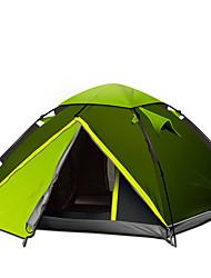 GAZELLE OUTDOORS 3-4 человека Световой тент Двойная Палатка Автоматический тент Водонепроницаемость С защитой от ветра Ультрафиолетовая