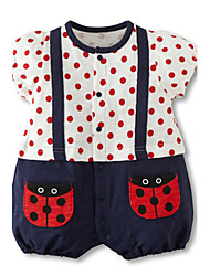 3-24M Cartoon Baby Girls Romper Short Sleeve Cute Newborn Toddler One Pieces Jumpsuits Infant Clothing