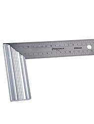 Sheffield® 200 * 115mm 90 graus l forma aço inoxidável anjo régua ferramenta (uma peça)