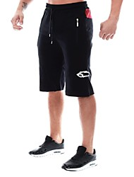 Men's Pants/Trousers/Overtrousers Breathable Summer Red Gray Black-Sports