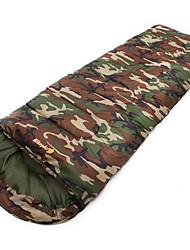 Sleeping Bag Rectangular Bag Single -5 Hollow Cotton75 Hiking Camping Traveling Portable Keep Warm