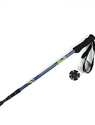 3 Nordic Walking Poles 135cm (53 Inches) Damping Foldable Light Weight Adjustable Fit Aluminum Alloy 6061Camping & Hiking Snowshoeing