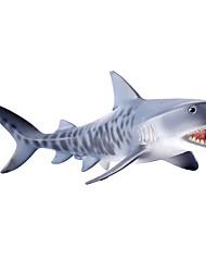Brinquedos & Bonecos de Ação Modelo e Blocos de Construção Tubarão Plástico