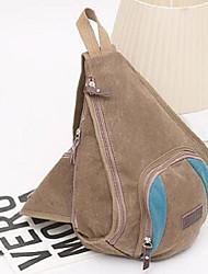 Women Canvas Casual Shoulder Bag khaki Coffee Black
