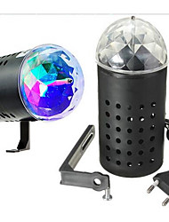 LED Stage Light Magic LED Light Ball Party Disco Club DJ Show Lumiere LED Crystal Light Laser Projector 3W - 50/60 - Music-Activated