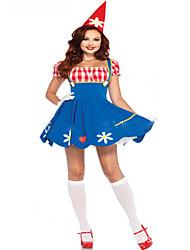 Cosplay Costumes Cosplay Festival/Holiday Halloween Costumes Fashion Leotard/Onesie Headwear Halloween Carnival Female