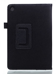 Para la cubierta del caso con la caja llena del cuerpo del tirón del soporte cuero sólido de la PU del color sólido para el zenpad 7.0 del