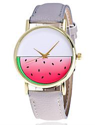 Ladies Fashion Cute Watermelon Quartz Watch Women Leather Casual Dress Women's Watch Reloje Mujer Montre Femme