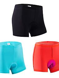 Sous-Vêtements de Cyclisme Femme Vélo Shorts Sous-vêtements Respirable Séchage rapide Design Anatomique La peau 3 densités Confortable