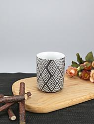 Minimalisme Soirée Articles pour boire, 175 ml Motif géométrique simple Réutilisable porcelaine Thé CaféVerres & Tasses Pour Usage