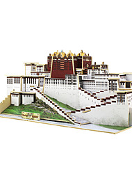 Jigsaw Puzzles 3D Puzzles Building Blocks DIY Toys Chinese Architecture 1 Wood Model & Building Toy