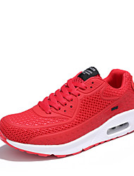 Herren-Sneakers Frühjahr Herbst Komfort PU lässig grün rot schwarz