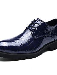 -Для мужчин-Для прогулок Для офиса Повседневный-Материал на заказ клиента-На плоской подошве-Удобная обувь-Мокасины и Свитер