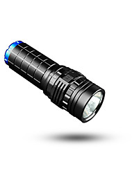 Handheld Flashlights/Torch LED 350~3800 Lumens 8 Mode - Lithium Battery Waterproof Rechargeable Compact Size Super Light