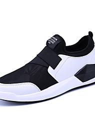 Herren Sneakers Frühjahr Herbst Komfort PU casual schwarz / weiß schwarz / rot schwarz