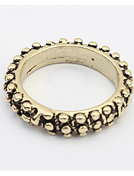 Turkish Vintage Simple Style Copper  Couple's Daily RingMovie Jewelry