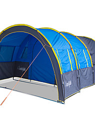 Tent Two Rooms with Vestibule Camping TentCamping Traveling-