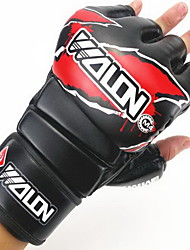 Sports Gloves Exercise Gloves Pro Boxing Gloves for Boxing Muay Thai Fingerless GlovesKeep Warm Breathable Wearproof High Elasticity