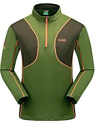 LEIBINDI®Men's Short Sleeve Running T-shirt Breathable Quick Dry Comfortable Summer Sports Wear Exercise & Fitness Running