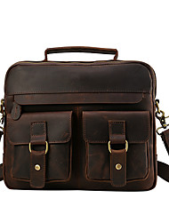 Crazy Horse retro casual leather shoulder bag