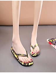 Women's Slippers & Flip-Flops Spring Light Soles PU Casual