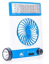 Novo multi-função levou lâmpada de mesa mini ventilador usb solar recarregável ventilador outdoor camping lâmpada