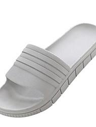 Pantoufles pour homme&Flip-flops printemps confort couple chaussures caoutchouc décontracté bleu jaune gris