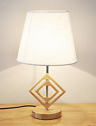 Bedroom Bedside Table Lamp Modern Chinese Style Solid Wood Retro Creative Study Hotel Oak